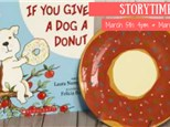Storytime - If You Give a Dog a Donut