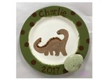 Mommy/Daddy & Me - Dino Egg Plate 08/29