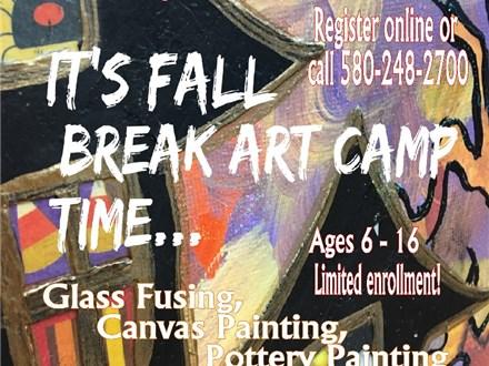 Fall Break Art Camp, October 19, 2017