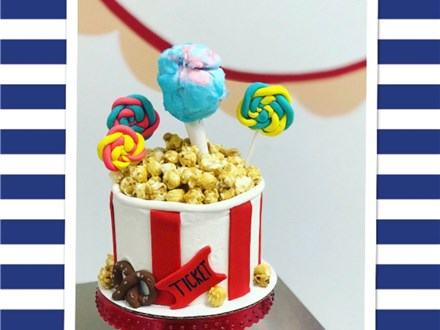 Mother/Son Carnival Cake Class