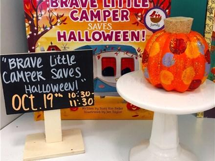 "Pre-K Story Time ""Brave Little Camper Saves Halloween"""