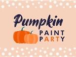 PUMPKIN PAINT PARTY - Sunday 10/3