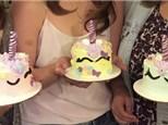 Toddler/Parent Mini Unicorn Cake Class