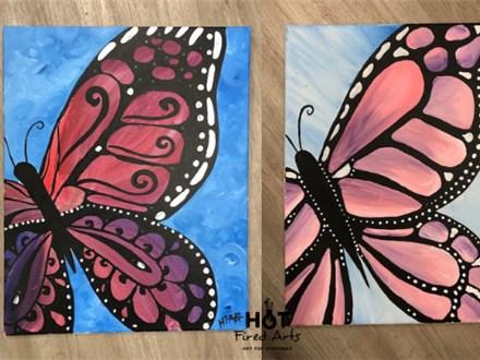 Butterfly Canvas Class