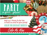 Take Away Holiday Party - it's your baby!