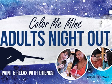 Adult Night Out! Friday, June 11th @ 6:30pm
