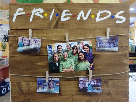Family Board Art - Friends Photo Holder Board - 02.02.19