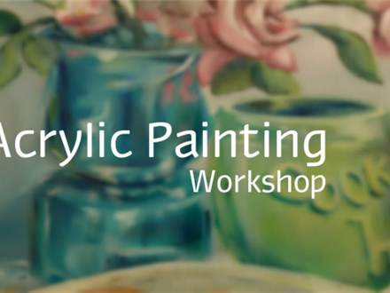Acrylic Painting 101 for Adults