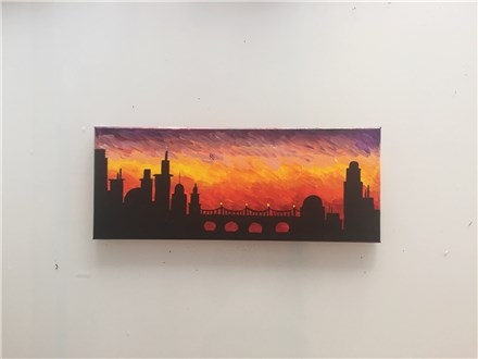 Sunset City (Adult) Canvas Class