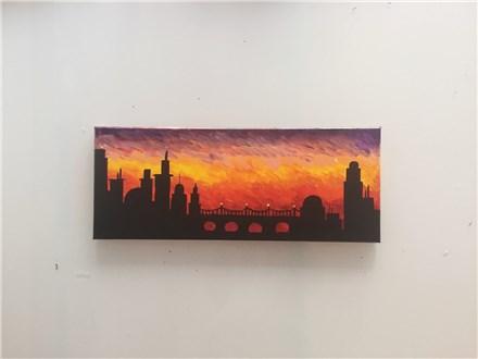 Sunset City (Adult) Canvas Class