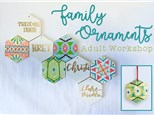 Adult Class: Family Ornaments - December 6th @ 6PM