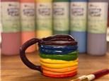 Family Clay - Rainbow Mugs - 05.26.19