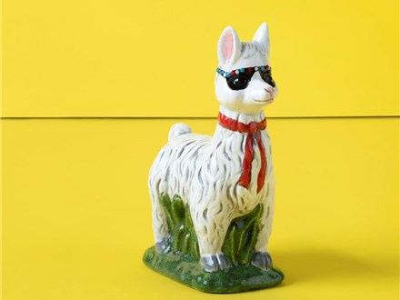 """Drama Llama"" To-Go Kit- at Color Me Mine - Aspen"