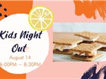 Kids Night Out - S'Mores Night,  August 14, 2021 (Torrance)