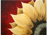 Sunflower - Canvas Painting on April 27, 2018