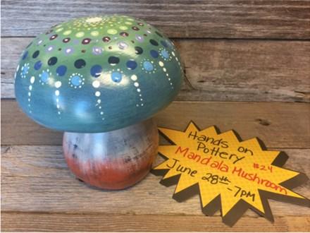 You Had Me at Merlot - Mandala Mushroom - June 28th