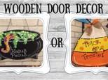Door Decor - October
