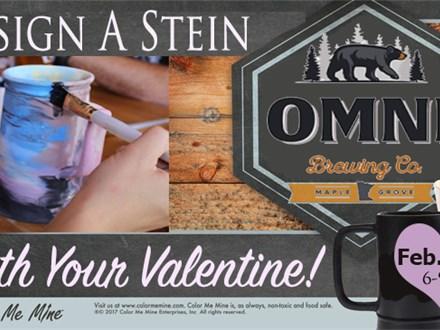 Design a Stein at Omni Brewery Feb. 13th
