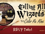 May 26th • Wizard Workshop • Color Me Mine Aurora