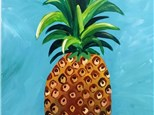 Adults - Pineapple Canvas Class
