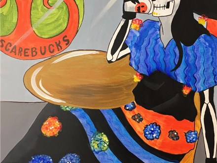 Adult Canvas - Scarebucks - Morning Session - 10.27.17