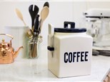 """"""" Kitchen Canister w/scoop"""" To-Go Kit- at Color Me Mine - Aspen"""