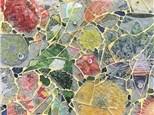Mosaic Collage Using Tempered Glass