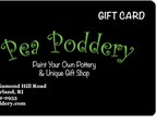 Pea Poddery Emailed Gift Card