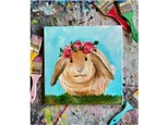 VIRTUAL Bunny Paint Class