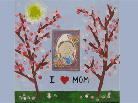 Kids Canvas Painting - This is for you Mom - Sunday 5/7