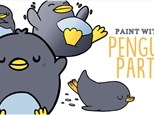 Kids Paint With A Penguin Party - November 10