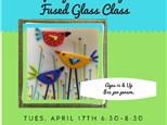 Spring Birds Glass Fusing Class