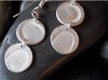 Silver Clay Thumbprints at KILN CREATIONS