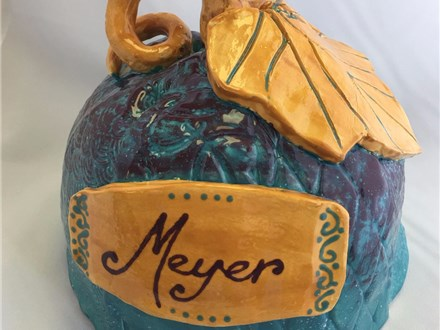 Family Clay - Clay Pumpkins - Evening Session - 11.03.17