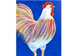 Canvas & Wine Night!  Rooster!  4/17/17