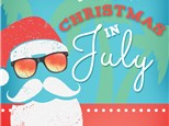 Christmas in July at Color Me Mine - Ridgewood