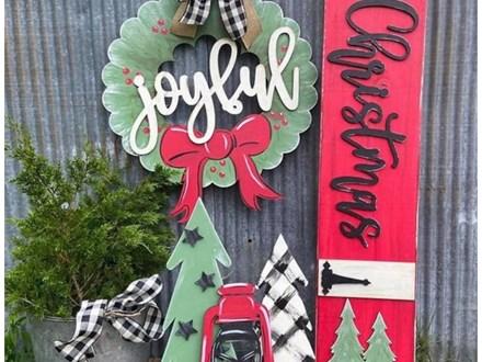 Oct. 2nd Christmas Front Door Set