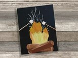 """""""Michigan S'mores"""" Canvas Class ages 8 & up 7/16/20"""