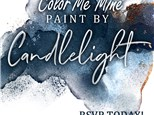 Paint By Candlelight at Color Me Mine - Henderson, NV 02/14/19