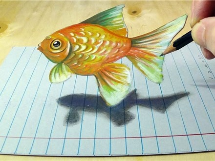 Draw in Floating 3D