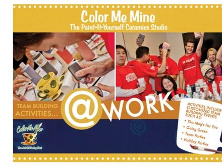 Teambuilding at Color Me Mine
