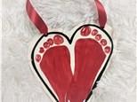 Clay Handprint Weekend!