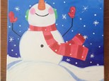 "Tween Canvas Night! ""Let it Snow"" Friday, December 23rd 6-8pm"