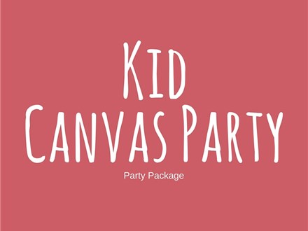 Kid Canvas - Party Package