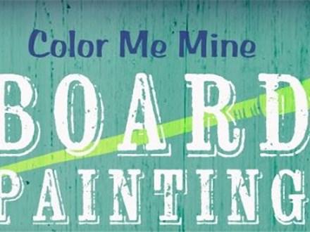 Board Art: Painter's Choice - October 25, 2017