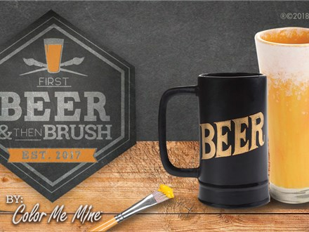 May 14th • Beers & Brush at Bent Barley Brewing Company
