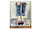 Jeans Paint Class