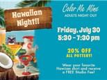 Adults Night Out: Hawiian Night- July 30