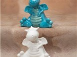 """"""" Cute Dragon Bank"""" To-Go Kit- at Color Me Mine - Aspen"""