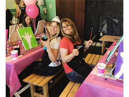 Private Party Package: Canvas Painting $35 per person